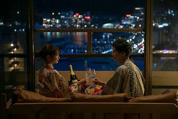 お部屋からは熱海温泉の美しい夜景が御覧いただけます。