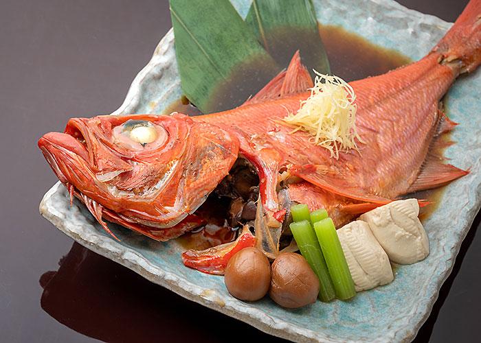 金目鯛のあたみ煮