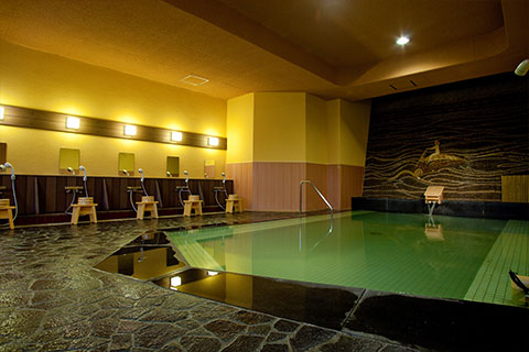 芭蕉の湯 大浴場